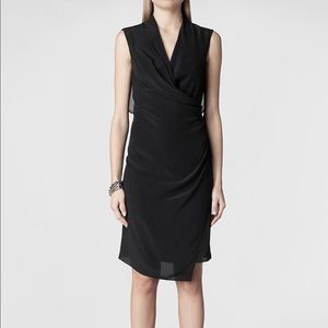 AllSaints 'Mayra' Silk Dress
